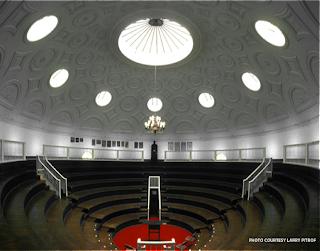 Inside Davidge Hall